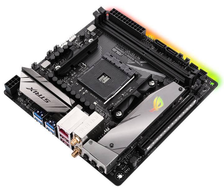 Asus'un beklenen anakartı göründü: Ryzen için Mini-ITX model