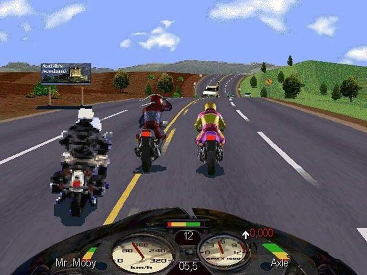 Road Rash'in ruhani devam oyunu Road Redemption çıktı