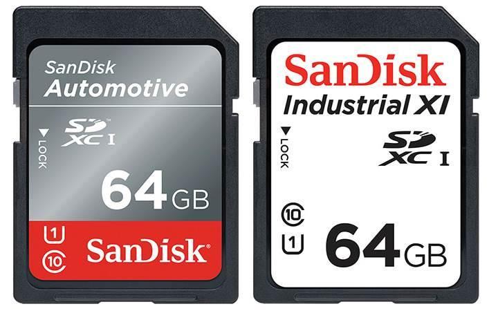 SanDisk'den sıfırın altında sıcaklığa dayanıklı SD ve microSD kartlar