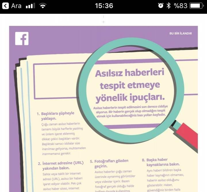 Facebook, Türkiye'de seçim çalışmalarına erken başladı