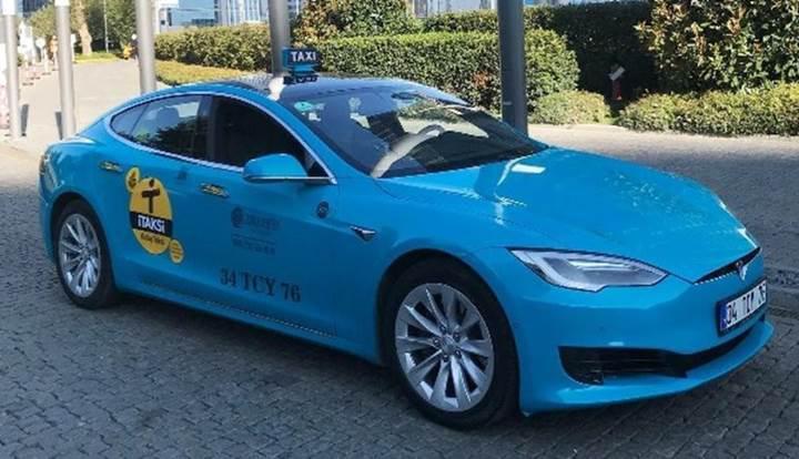 İstanbul'da taksiciler Uber ile rekabet edebilmek için 200 adet Tesla otomobil alacak