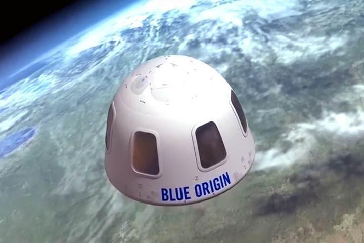 Blue Origin: Uzay turizmini 18 ay içerisinde başlatıyoruz