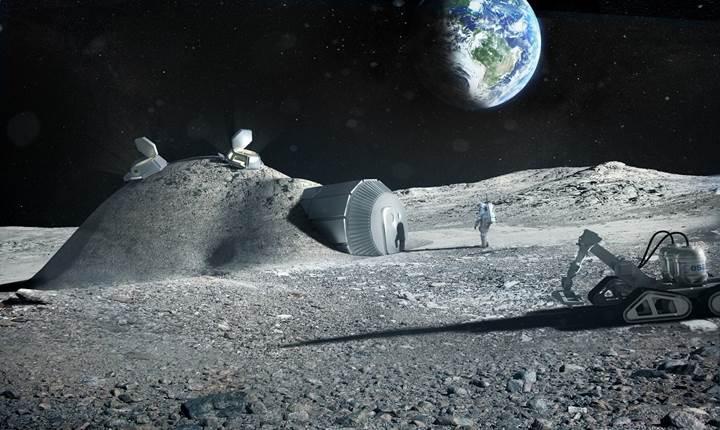 'Ay'da binlerce insan yaşayacak!' İşte Avrupa'nın inanılmaz planı