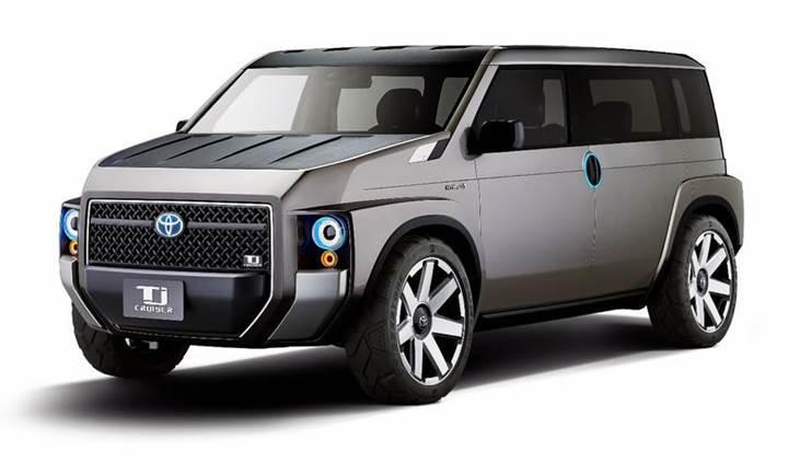 Toyota'dan SUV-Van karışımı araç: Tj Cruiser