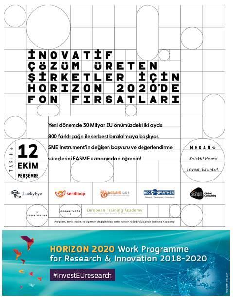 H2020 Programı ve SME Instrument Eğitimi