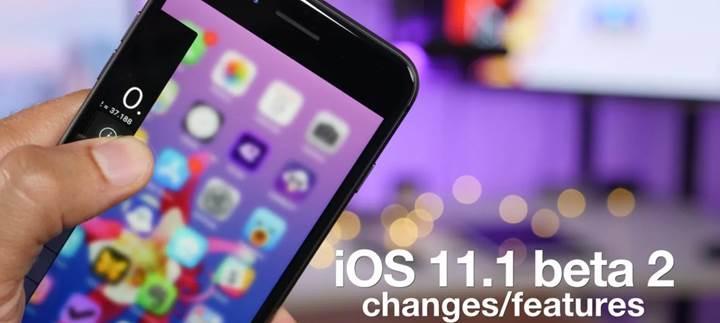iOS 11.1 Beta 2 yayınlandı: iOS kullanıcılarını neler bekliyor?
