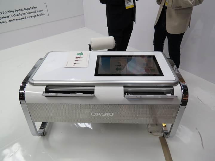 Casio'dan yazıcılarda 2.5D devrimi