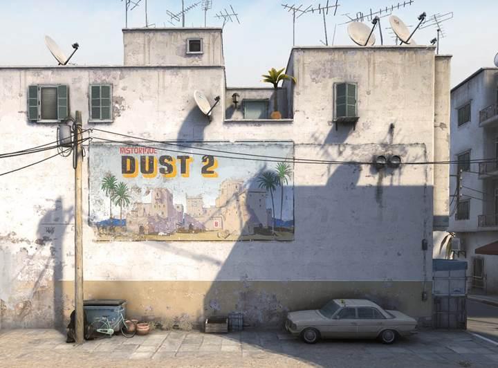 CS GO için Dust2 haritası yenileniyor