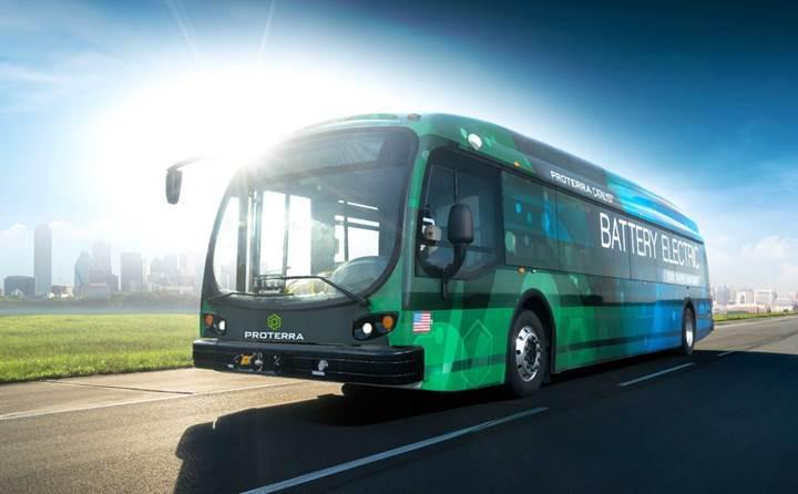 Proterra elektrikli otobüslerinin gücünü ikiye katlıyor