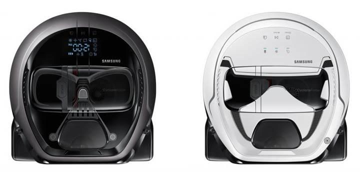 Samsung'dan Darth Vader görünümlü robot elektrikli süpürge