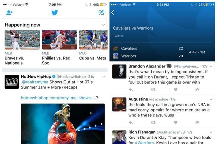Twitter spor gönderilerini daha fazla öne çıkarmaya başladı