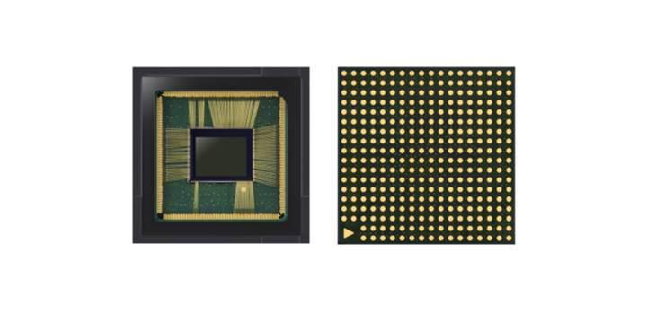 Çerçevesiz telefonlar için Samsung'dan küçük kamera sensörleri