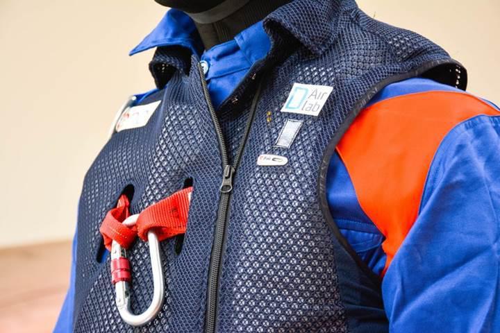 Yüksekten düşen işçileri koruyacak hava yastıklı ceket geliştirildi