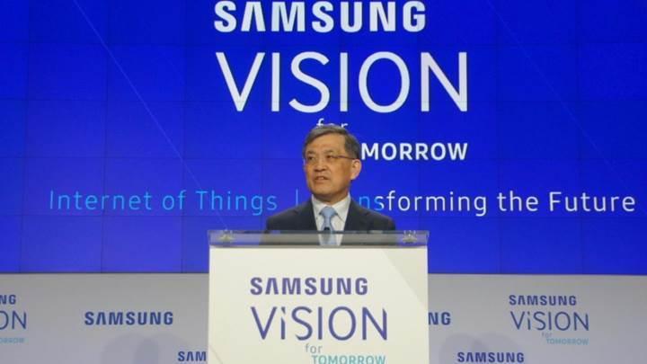 Samsung patronu görevi bırakıyor
