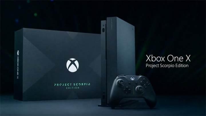 Xbox One Project Scorpio Edition Türkiye'de ön siparişe açıldı