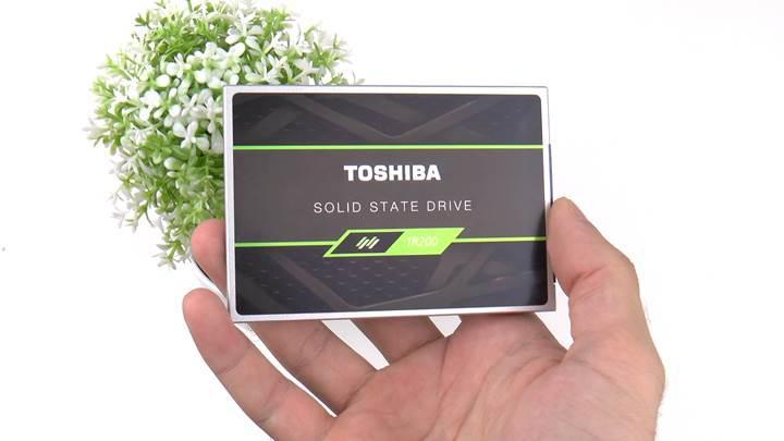 Toshiba TR200 SSD incelemesi 'Toshiba'dan uygun fiyatlı BiCS NAND SSD'