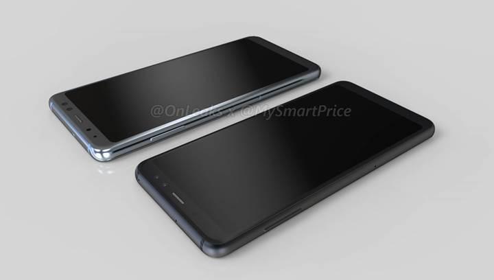 Samsung Galaxy A5 ve Galaxy A7 (2018) modellerinin görüntüleri sızdı