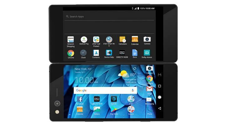 Çift ekranlı ZTE Axon M tanıtıldı