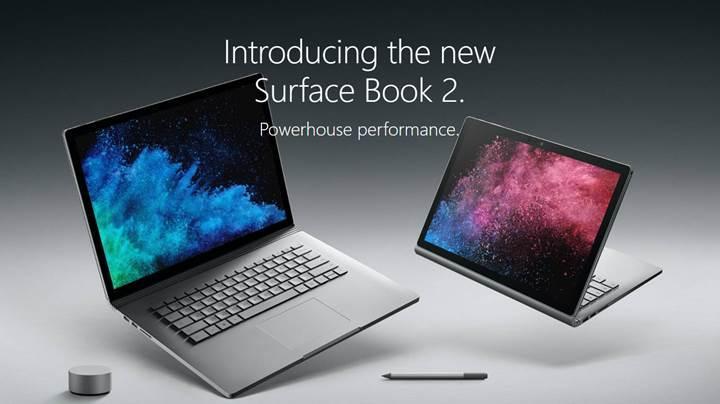 Karşınızda Microsoft'un yeni bilgisayarı: Surface Book 2 tanıtıldı!