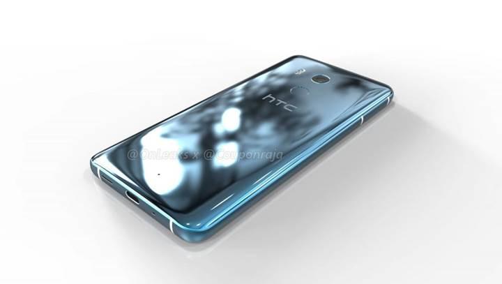 HTC U11 Plus'ın render görüntüleri ortaya çıktı