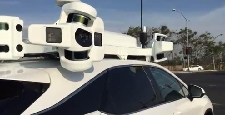 Apple'ın otonom sistemi ortaya çıktı