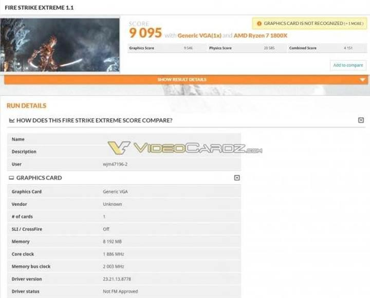GTX 1070 Ti testlerde Radeon RX Vega 56'yı geride bırakıyor