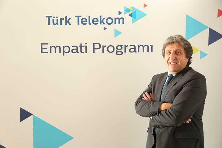 Türk Telekom müşterilerine Empati yapacak