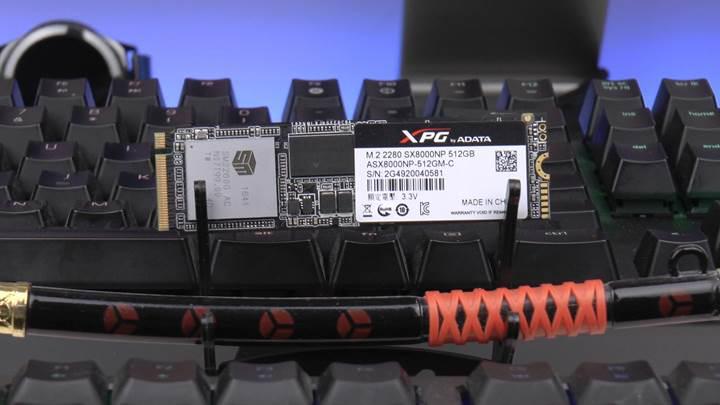ADATA XPG SX8000 NVMe SSD incelemesi 'Yüksek yazım ömrü, rakiplerden uygun fiyat'