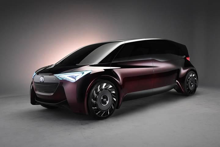Toyota'dan yeni hidrojen yakıtlı konsept: Fine-Comfort Ride