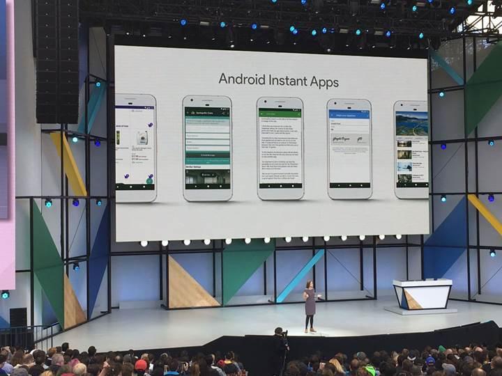Anlık Uygulamalar artık Google Play'de