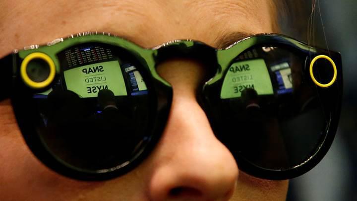 Spectacles gözlükleri elde kaldı, donanım planları sil baştan