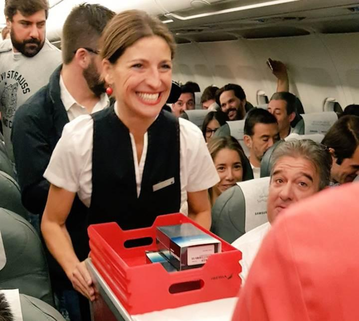 Iberia Airlines yolcularına Galaxy Note 8 sürprizi