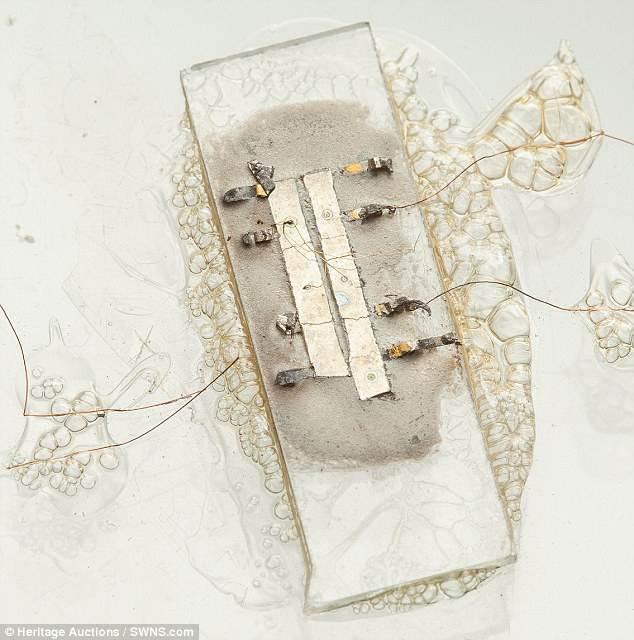 Dünyanın ilk mikroçipi 600 bin dolara satılıyor