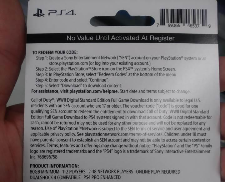 Call of Duty: WW2'nin PS4 versiyonu Xbox One'dan iki kat fazla alan kaplayacak