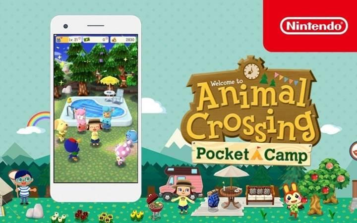 Nintendo'nun Animal Crossing oyunu kamp temasıyla mobil platforma geliyor