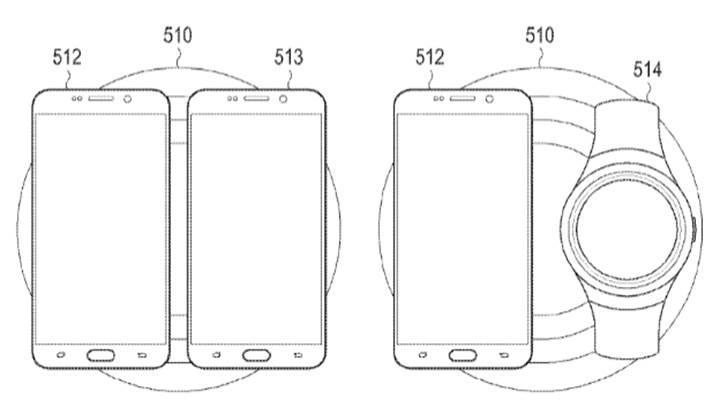 Samsung, kablosuz şarj menzilini arttıran yeni bir patent başvurusunda bulundu