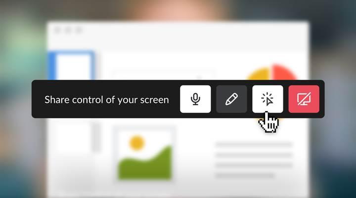 Slack'e interaktif ekran paylaşım özelliği geliyor