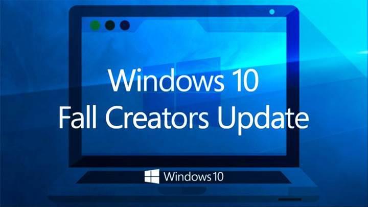 Windows 10 Fall Creators Update bazı bilgisayarlara yüklenemiyor
