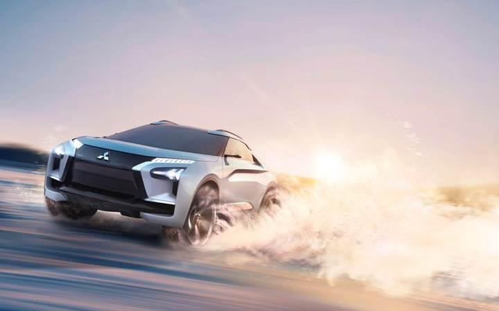 Mitsubishi'den akıllı elektrikli spor araç: e-Evolution
