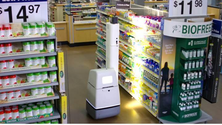 Walmart reyon kontrolü için robotlardan faydalanacak