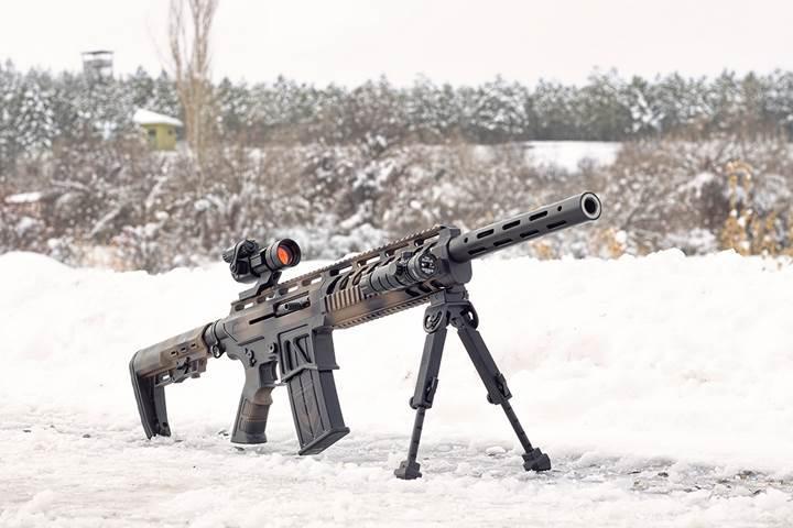 NRA ödüllü Türk yapımı tüfeğin üretim aşamalarını görüntüledik, atış yaptık
