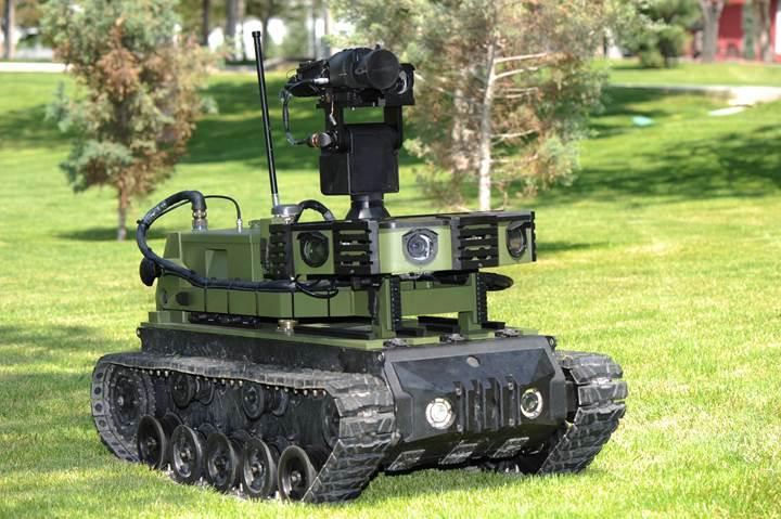 Yerli insansız kara aracı için çalışmalar hızlandırıldı