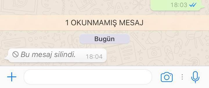 WhatsApp'a yeni emojiler ve mesaj silme özelliği eklendi
