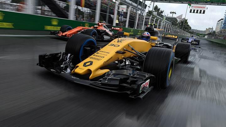 F1 2017 oyunu Linux'a geliyor