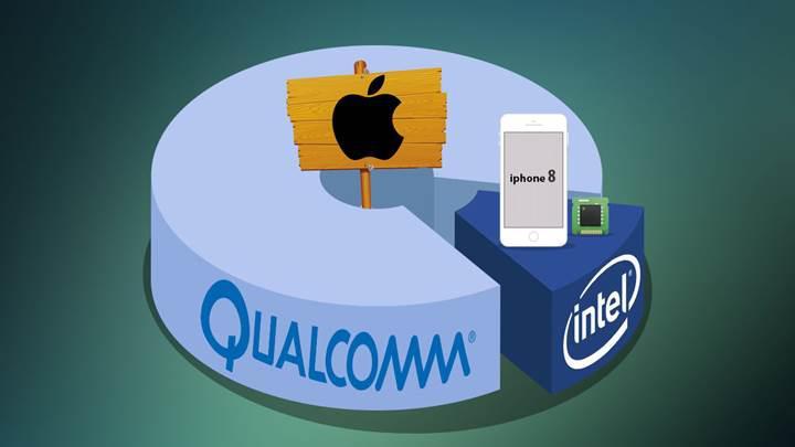 Apple 2018'de çıkaracağı iPhone ve iPad'lerde Qualcomm bileşenleri kullanmayabilir