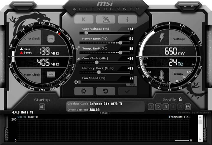 Nvidia GeForce GTX 1070 Ti hız aşırtılabiliyor