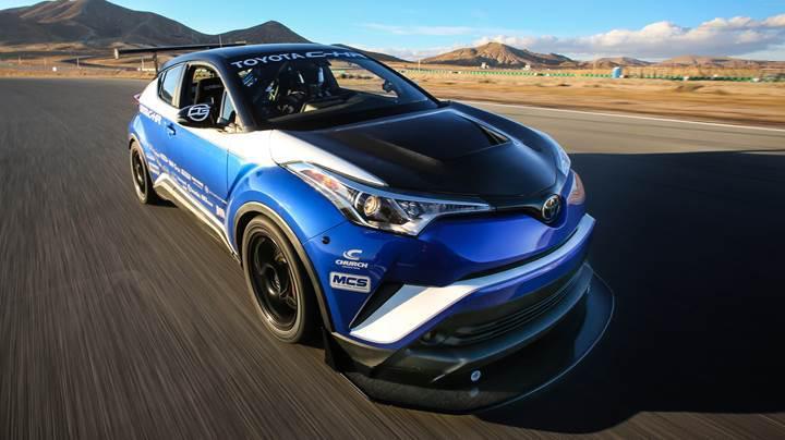 Karşınızda 600 beygirlik Toyota C-HR