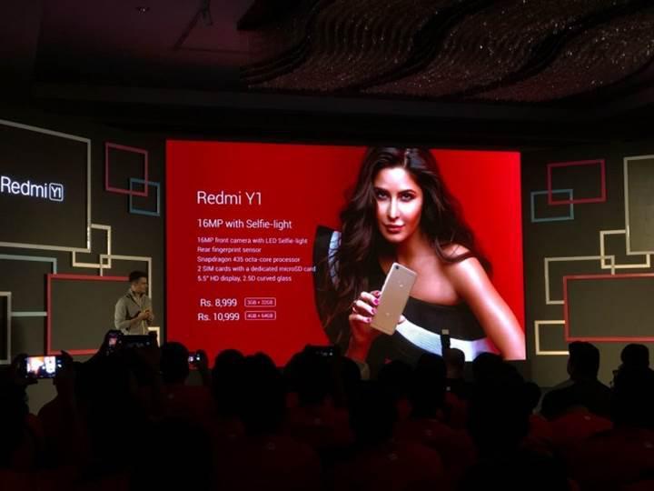 Xiaomi'den bütçe dostu iki yeni telefon: Redmi Y1 ve Redmi Y1 Lite
