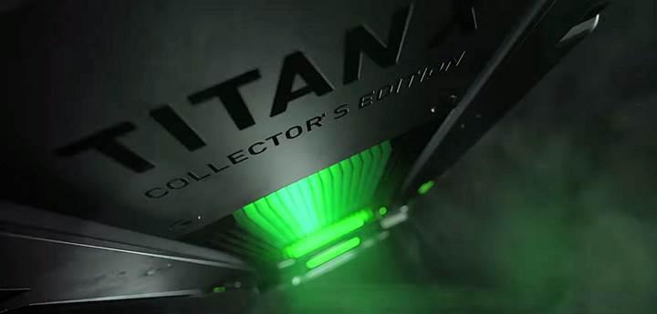 Nvidia RGB aydınlatmalı bir Titan modeli üzerinde çalışıyor