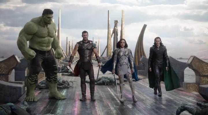Thor: Ragnarok gişedeki yolculuğuna hızlı başladı